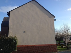 image of Render cleaning Warrington after cleaning