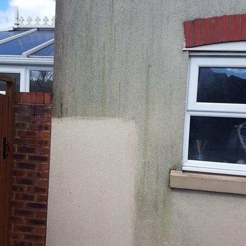 Render Cleaning Service showing sample clean